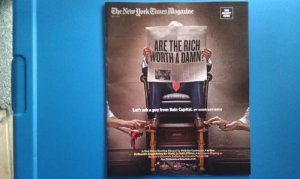 Shoe Shine NYT Mag cover Bain Capital