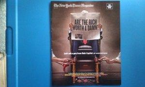 Shoe Shine NYT Mag cover Bain Capital