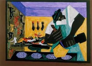 Shoemaker African American By Jacob Lawrence