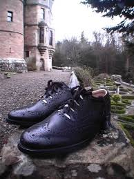 Shoemaker Thistle Scottish Brogues