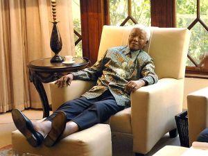 Prison post Nelson Mandela shoelaces