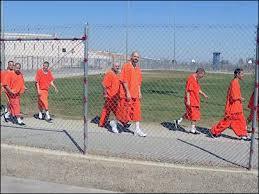 Prison Yard Walk