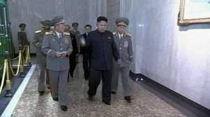 Gait famous peeps Kim N Korea
