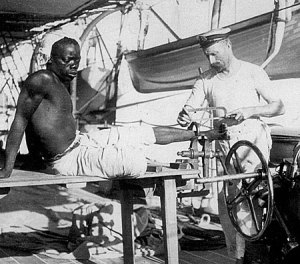 Musuems and Galleries African Slave Being Shackled