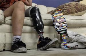 prosthetics lego leg