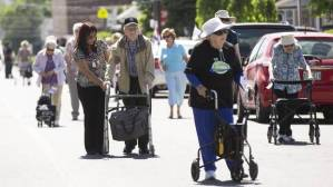 charity snail strut for seniors