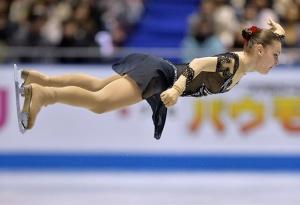 Feet in the Air Sports skating Adelina-Sotnikova in Japan